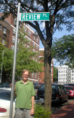 Tim W. Brown at 238th St. and Review Pl.